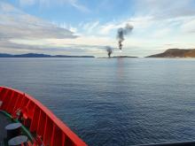 'Esvagt Aurora' at Melkøya - 1