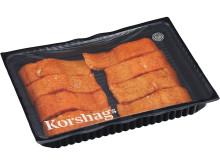 Korshags - EKO Varmrökt laxfilé, naturell, MAP