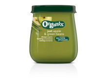 Organix just apple & green beans