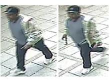 CCTV image - Rape investigation, Upton.