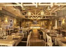 """Im Brasserie-Stil: Das neue Restaurant """"Anno 1743""""."""