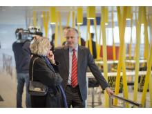 Anne H. Steffensen, CEO Danmarks Rederiforening og Søren Poulsgaard Jensen, CEO Scandlines