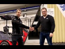 Digitalt handslag Trejon och S&H Jönköping