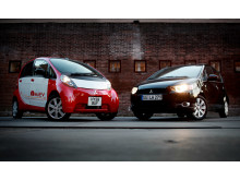 Mitsubishi i MiEV och Colt