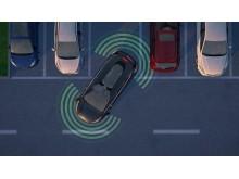Ford utvikler testbiler som automatisk styrer unna - eller sakker ned farten for andre kjøretøyer