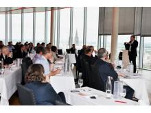 FeuerTrutz Trend ist eine Veranstaltungsreihe, die gesellschaftliche, politische und technische Entwicklungen im vorbeugenden Brandschutz aufgreift und den Teilnehmern Prognosen zur Veränderung ihrer Märkte bietet