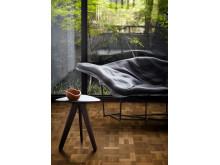 Golvtrender 2020, Oak Palazzo Fumo, mörkt mönstergolv i ek, Kährs