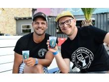 Erik Frithiof och Glenn Persson för Great Swedish Beer Festival