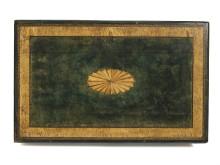 Detalj, bordskiva, damarbetsbord, Edelstam Konst & Antikviteter.and 2019