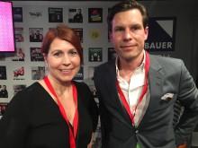 Jenny Kaiser och Per Carleö från Volvo