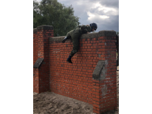 Image from 2018 summer camp - obstacle wall