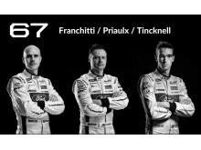 Ford förare vid Le Mans