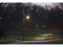 Leading Light connected lighting solution Djurgarden, Sweden