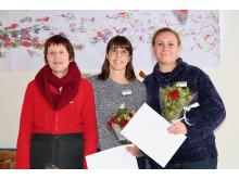 Liselott Karlsson, Angelica Eriksson och Sofia Axelsson