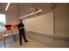 Smart boards er vanlig i dagens klasserom