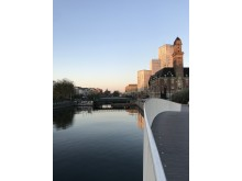 Malmö kanal höjdbild