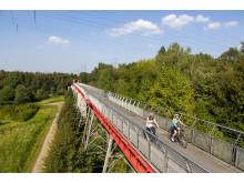 Die Erzbahnbrücke in Bochum