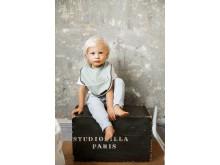 Elodie Details SS19 - Baby Bib Mineral Green
