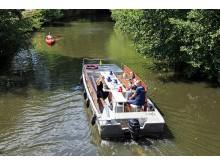 Wassertourismus in Leipzig mit neuen Hop on Hopp off Touren