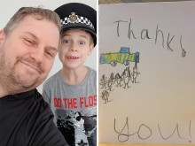 20190305-glass-james-horsham-police-visit4-mnd