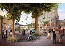 Arkitektförslag kvarteret Galten