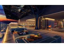 Rooftop Bar Maritim Hotel Hefei (Visualization)