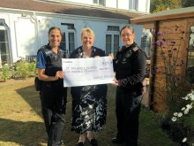 Welcome boost for St Michael's Hospice, St Leonards