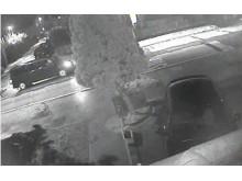 CCTV still of black van - Glushkov murder
