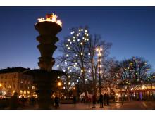 Jul i Malmö city