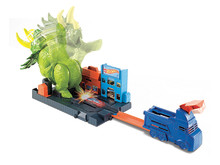 City Triceratops-Angriff Spielset