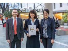 Die Stadtsparkasse München erhielt das Testsiegel in GOLD Beste Baufinanzierung in Bayern.