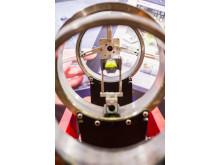 Lagergångsmätning i Fixturlasers monter på Underhållsmässan