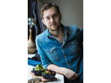 Gustav Johansson, vegoentreprenör och matbloggare,Jävligt Gott