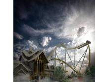 Valkyria - Europas längsta Dive Coaster