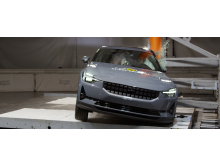 Polestar 2 - side pole test - March 2021