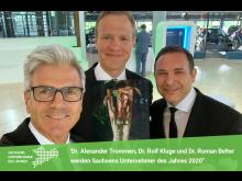 Presse Sachsens Unternehmer des Jahres