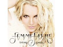 "Britney Spears - albumomslag ""Femme Fatale"""