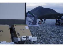 BRAVIA OLED AF8 TV commercial: behind the scenes