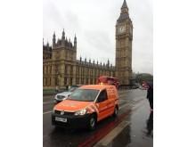 RAC Patrol Van at Westminster