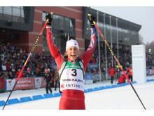 Ingrid Landmark Tandrevold, jakstart JR-VM Minsk