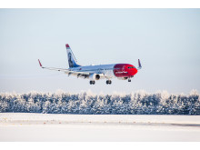 Norwegian Boeing 737-800 aircraft