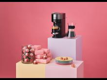 Nespresso x Joy Harris. Photo by Olof Ringmar. Product 50x70
