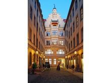 Barthels Hof: Blick in den Innenhof
