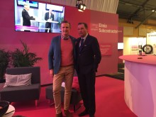 Anders H. Gustavsson från Volvo Cars och Bo Andersson samtalade inför en storpublik på Elmia Subcontractors scen.