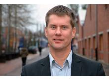 Fredrik Granberg, forskare i energiteknik vid Luleå tekniska universitet