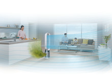 Dyson Pure Cool Tower Purificateur blanc