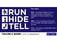 Run Hide Tell