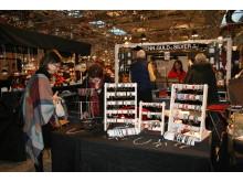 Tenntrådsarbeten på Julmarknaden i Nordstan 2012