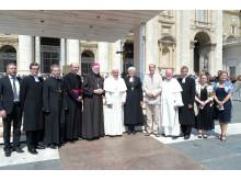 Ekumeniskt möte med påven i Vatikanen