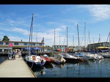 Hafen Zöbigker am Cospudener See - Foto: Andreas Schmidt